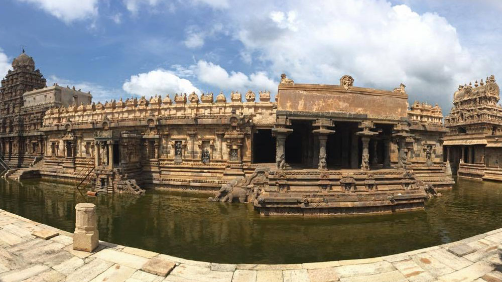 The Author in India: on my first visit to Tamil Nadu, to research my new wellness novel, pretty much only the temples were pleasant.